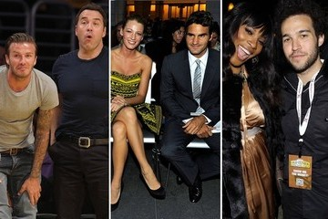 Athletes with Celebrity Friends