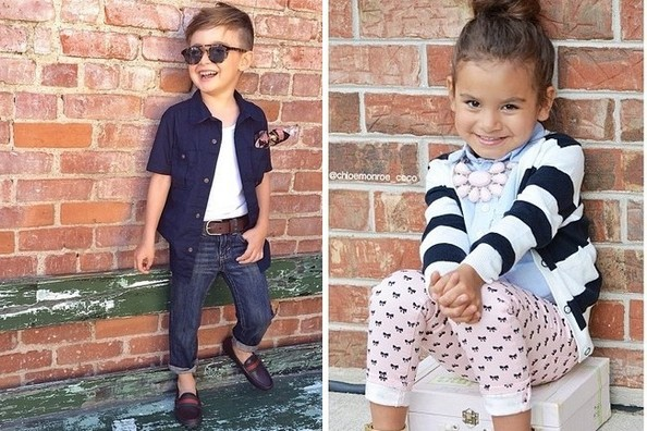 Ff Five Fashionable Toddlers To Follow On Instagram The Internet