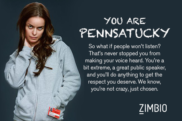 Pennsatucky - Which 'Orange Is the New Black' Character Are You ...
