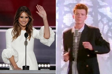 Did Melania Trump Just Pull Off the Most Successful Rickroll of All Time?