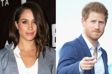 Meghan Markle Joins Prince Harry at Pippa Middleton's Wedding Reception
