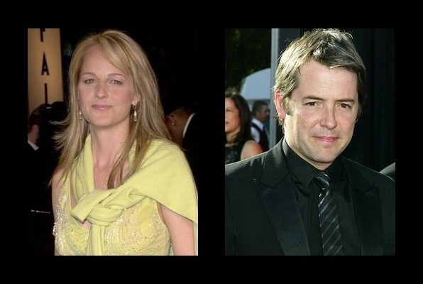 Helen Hunt dated Matthew Broderick
