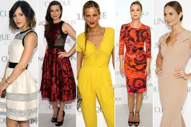 Vote! Who Was the Best Dressed at the Dramatically Different Clinique Party?