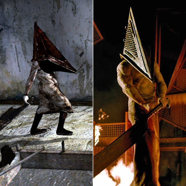Roberto Campanella As Pyramid Head In Silent Hill Video Game Characters And The Actors Who Played Them Zimbio
