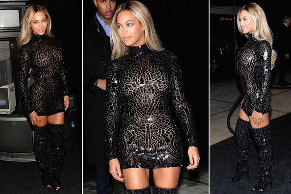 Beyonce Stuns in Tom Ford at Her Album Release Party in NYC