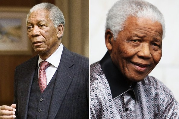 Actors Who Have Played Real PeopleNelson Mandela Morgan Freeman Comparison