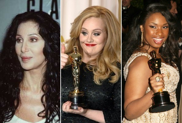 Pop Stars Who've Won Oscars
