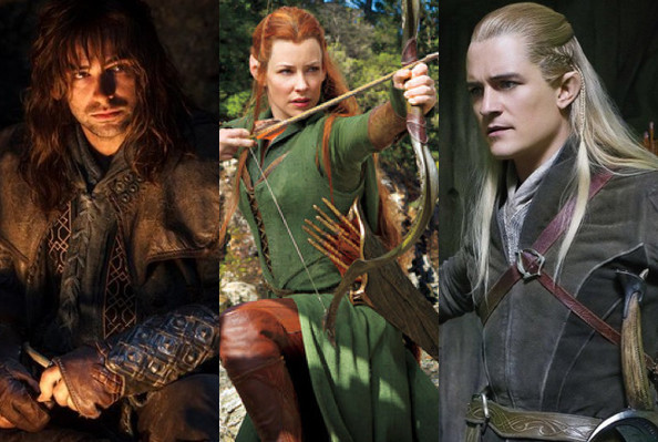 Go back gt gallery for gt legolas and tauriel kiss