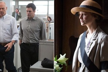 Movie Reviews: 'Spotlight', 'Suffragette' Wage War on Unjust Institutions