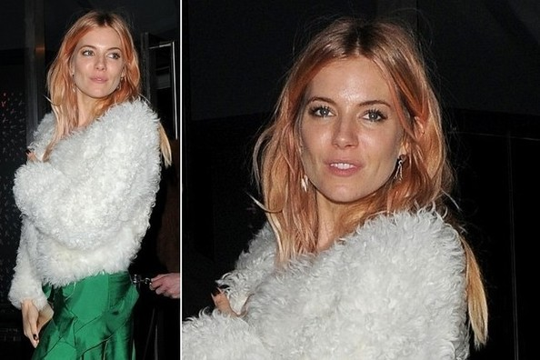 Check Out Sienna Miller's Hot New Hair Hue