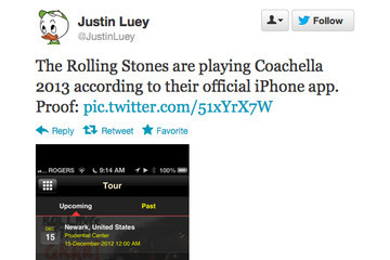 The Rolling Stones Are Probably Playing Coachella