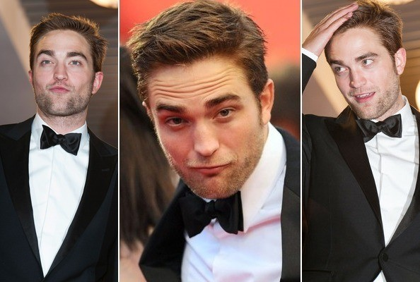 Making Faces with Robert Pattinson