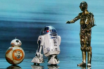 C-3PO, R2-D2, and BB-8 Just Crashed the Oscars
