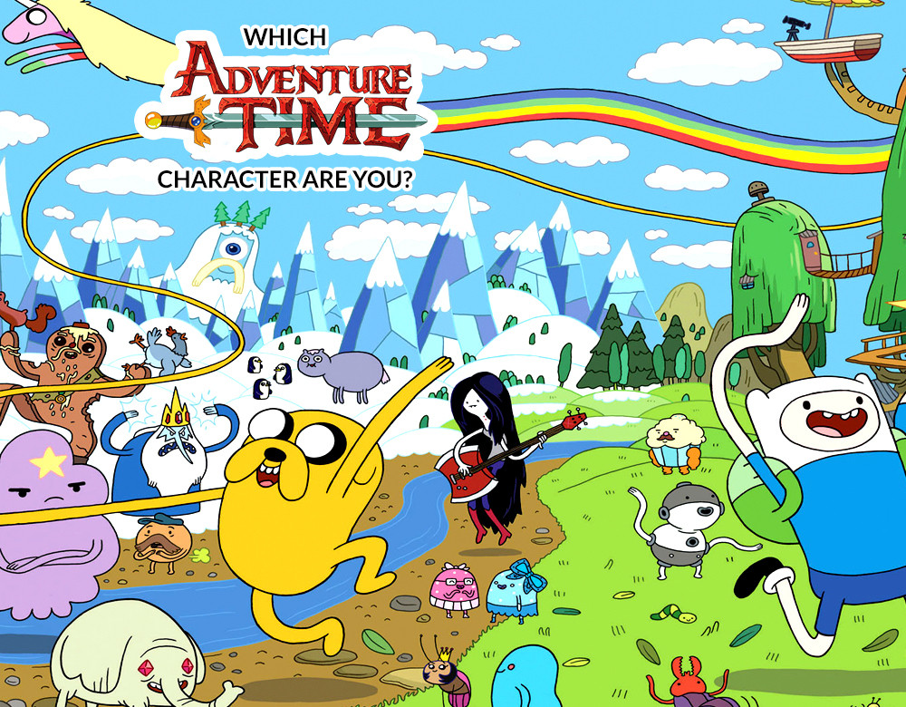 which adventure time character are you quiz zimbio