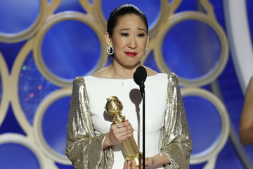 Sandra Oh Wins Best Actress In A TV Drama For 'Killing Eve' At 2019 Golden Globe Awards
