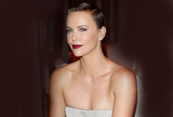 Charlize Theron Is a Silver Siren