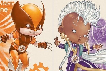 Adorable Things Happen When You Cross X-Men with 'Rainbow Brite'