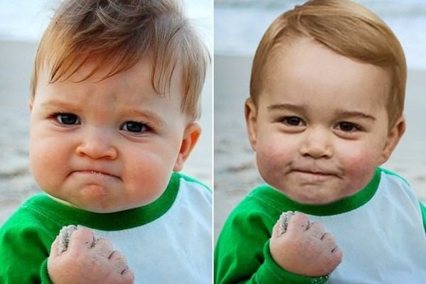 Funny Baby Face Meme : Here's proof that prince george has the most meme worthy face ever