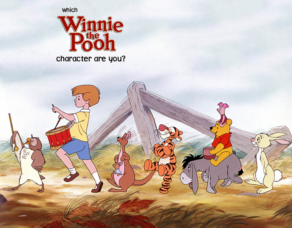 which winnie the pooh character are you quiz zimbio