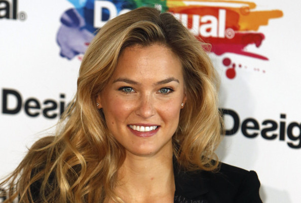 Bar Refaeli Models Desigual's Newest Collection in Barcelona