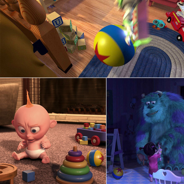 Toy Story Ball : The luxo ball a closer look at pixar s many easter eggs