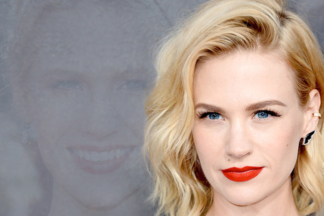 Fashion Flashback: January Jones Then & Now