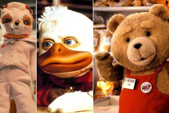 Anthropomorphic Film Characters That Are Weird and Wonderful