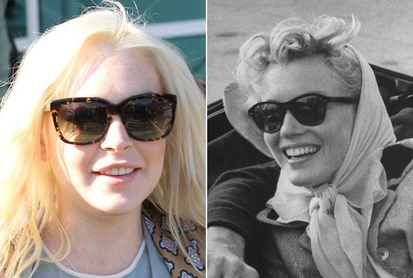 Lindsay Lohan—The Next Marilyn Monroe? Evidence Here.