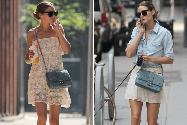 Olivia Palermo: 2 Looks, 2 Key Accessories