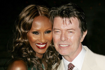 Iman Honors Late Husband David Bowie on the First Anniversary of His Death