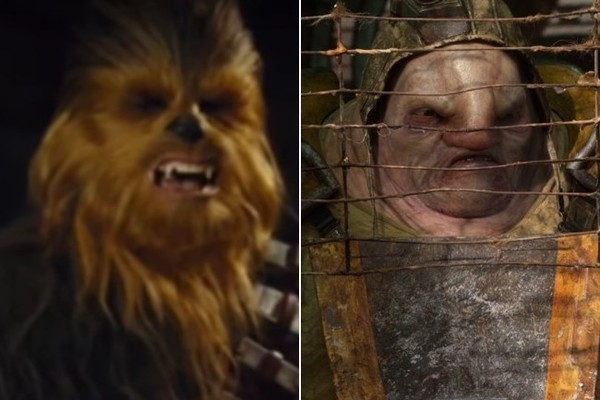 The Force Awakens Deleted Scene has Chewbacca Ripping and Arm Off