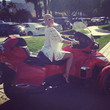 Amber Rose has a new ride.