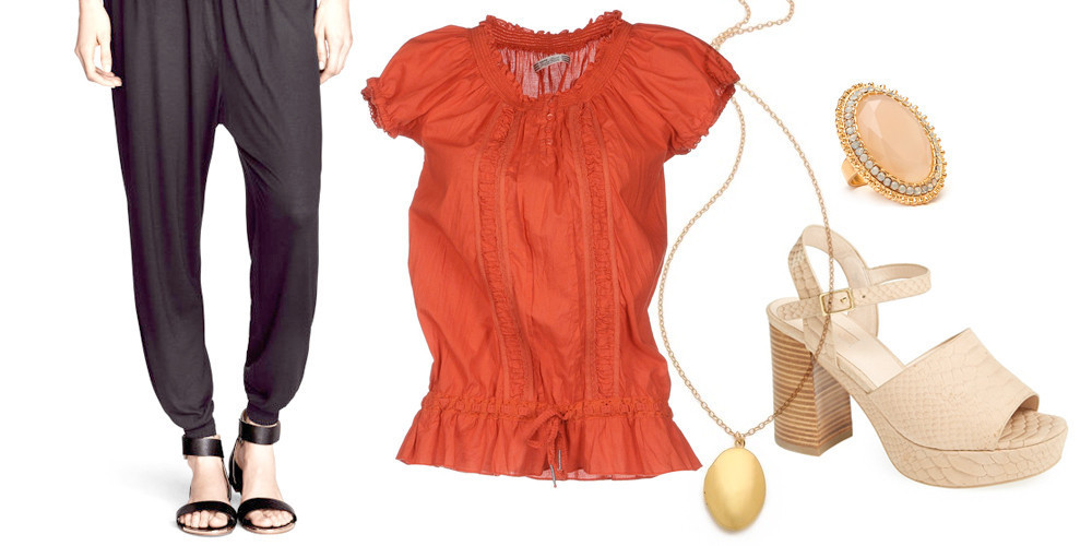 Steal Her Weekend Look: Drew Barrymore's Easy, Ethereal Ensemble