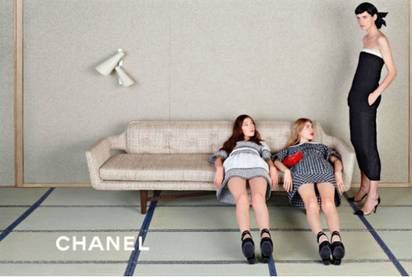 Chanel's Campaign Models Get Comfy, 24k Dye Jobs Are a Thing Now, and More News!