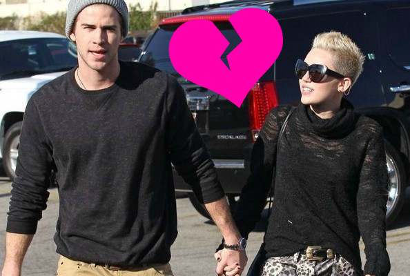 Reports: Miley Cyrus and Liam Hemsworth Are Dunzo