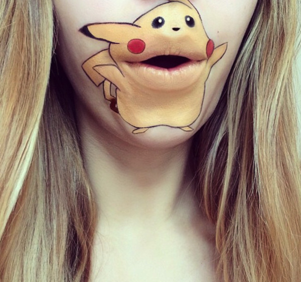 Your Favorite '90s Cartoons Have Come Alive...on This Makeup Artist's Mouth