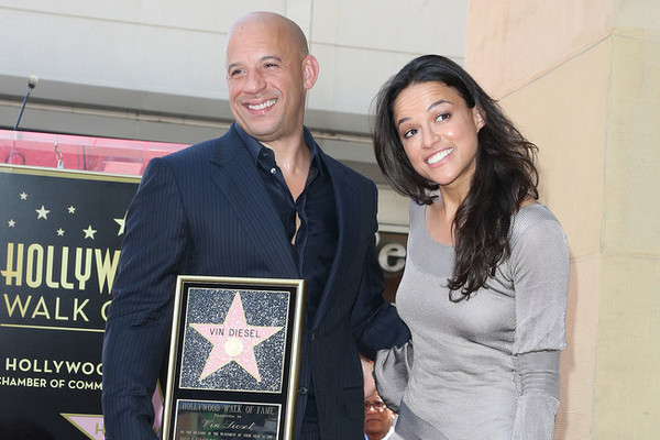 Michelle Rodriguez thanks Vin Diesel for supporting strong women