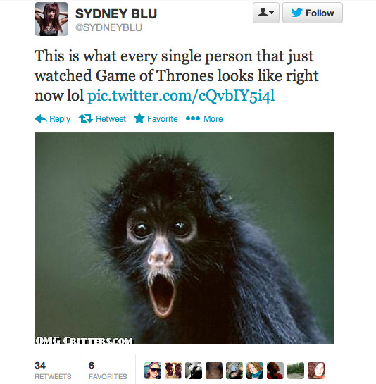 Red Wedding Reaction.The Best Twitter Reactions To Tonight S Game Of Thrones Beyond
