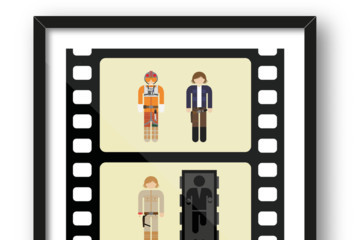 These Two-Frame Movie Posters Would Look Great on Your Wall