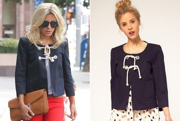 Steal Her Style: Mollie King's ASOS Jacket