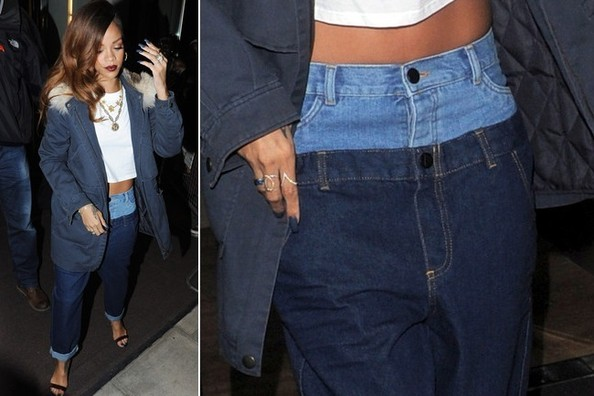 Are Rihanna's Two Pairs of Pants Better Than One? Vote Now!