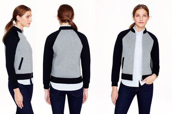 Current Obsession: J. Crew Surf Varsity Jacket