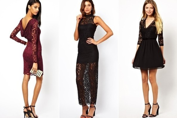 Wanted and Hunted: Sheer Lace Dress