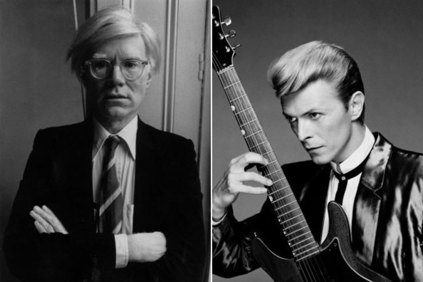 andy warhol and david bowie relationship
