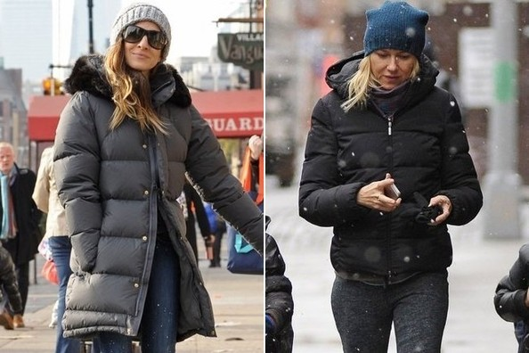 Puffer Jacket: Official Winter Uniform of NYC Celeb Moms