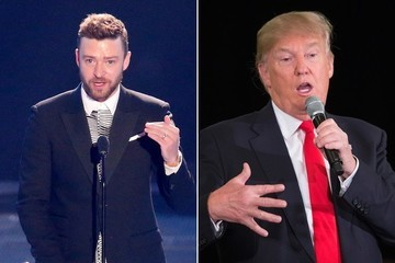 Justin Timberlake Totally Dissed Donald Trump at the iHeartRadio Music Awards