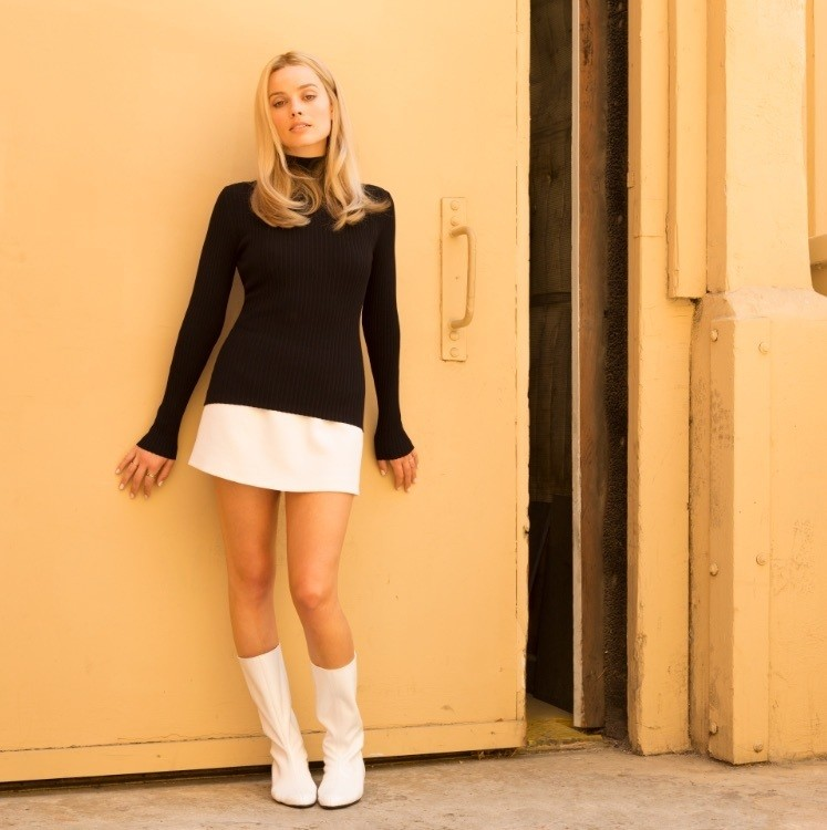 Margot Robbie as Sharon Tatein Once Upon a Time in Hollywood. (Sony Pictures Releasing)