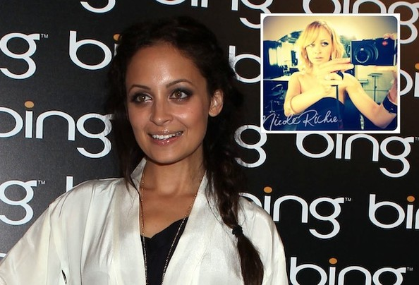 (Getty) Nicole Richie's new 'do After a few months of flirting with the
