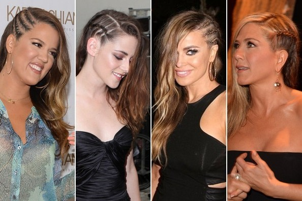 Hollywood S Latest Hair Obsession Side Cornrow Braids Hair Ideas