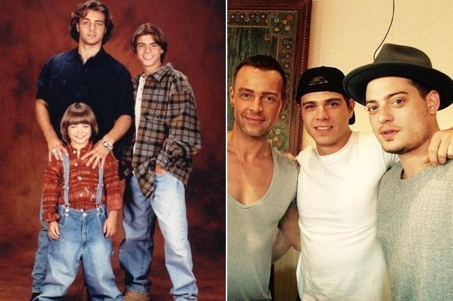 Then And Now Joey Matthew And Andrew Lawrence
